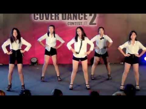150405 Queztie cover EXID - Intro + Up & Down @Esplanade Cover Dance #2 (Audition)