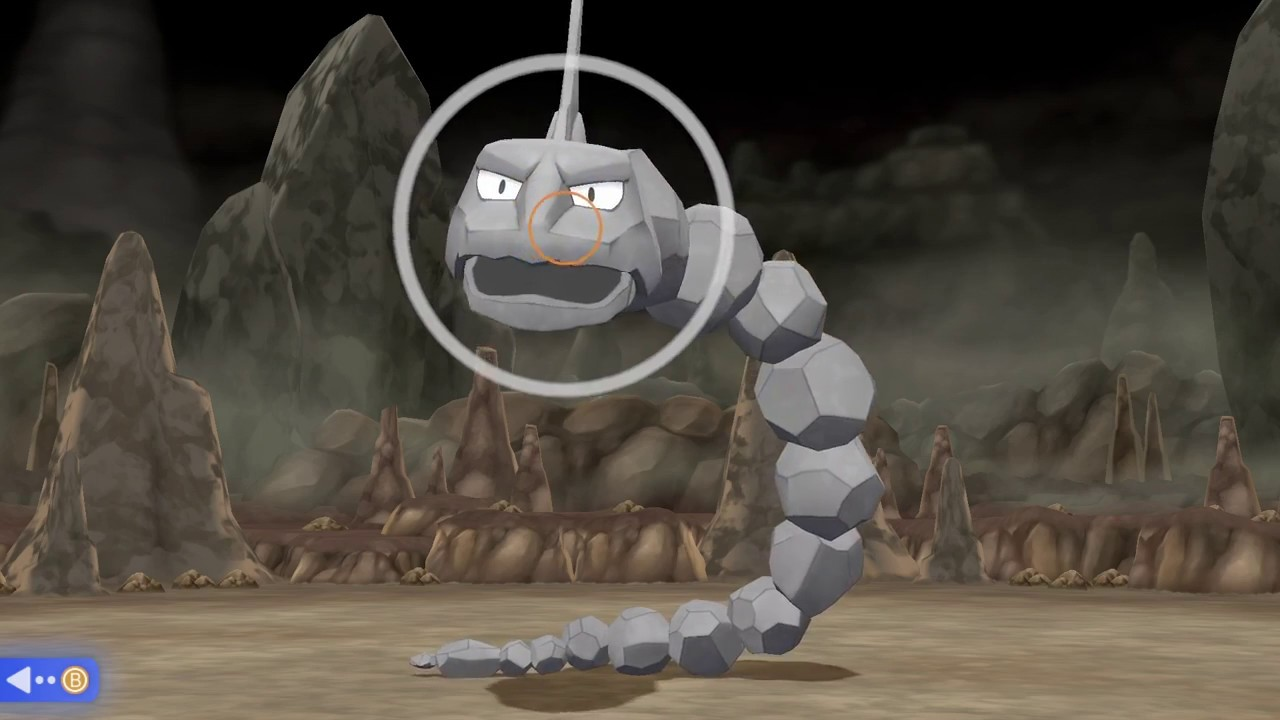 How to Catch an Onix in Pokemon Let's Go Pikachu, Eevee