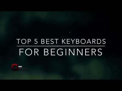 Top 5 best music  keyboards for beginners!