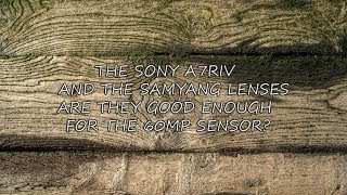 Sony A7riv and Samyang lenses are they good enough for the 60mp sensor???