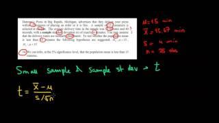 STATISTICS I One Sample T-Test