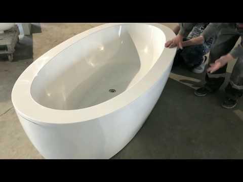 Монтаж ванны CORSICA