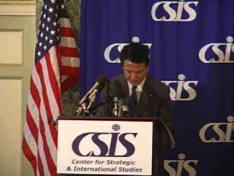 Statesmen's Forum with Taro Aso, Japan's Minister of Foreign Affairs