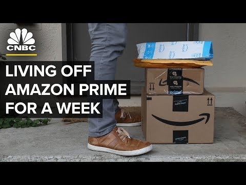 Amazon Prime services test