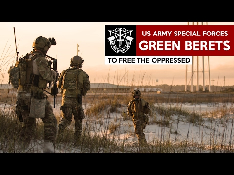 GREEN BERETS US Army Special Forces