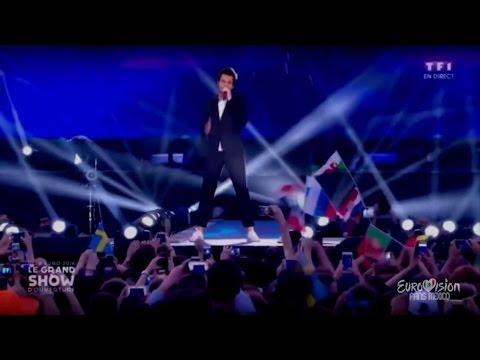 Amir - J'ai Cherché | LIVE At UEFA EURO 2016 France Opening Concert