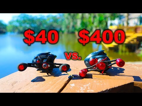 How Good Is A $40 Fishing Reel?? (Put to the test)