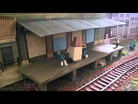 Building a model railway module  – The construction of Millbog East Part 2, H0 Scale