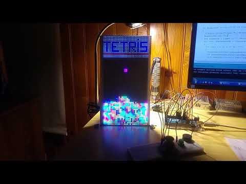 TETRIS V1.0 ARDUINO MEGA + MATRICE LED 64x32