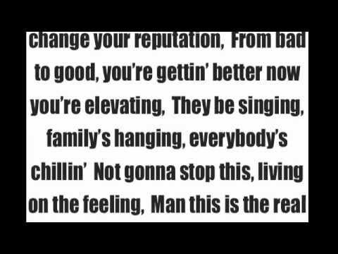 Chris Rene Young  Homie with  lyrics on screen