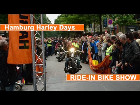 RIDE IN BIKE SHOW Hamburg Harley Days