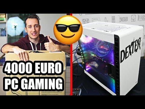 IL MIO NUOVO PC DA 4000 EURO (Setup 2018 + Postazione Gaming)