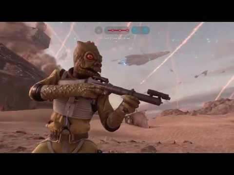 Star Wars Battlefront: 239 Bossk killstreak live! THE NEW RECORD!!!