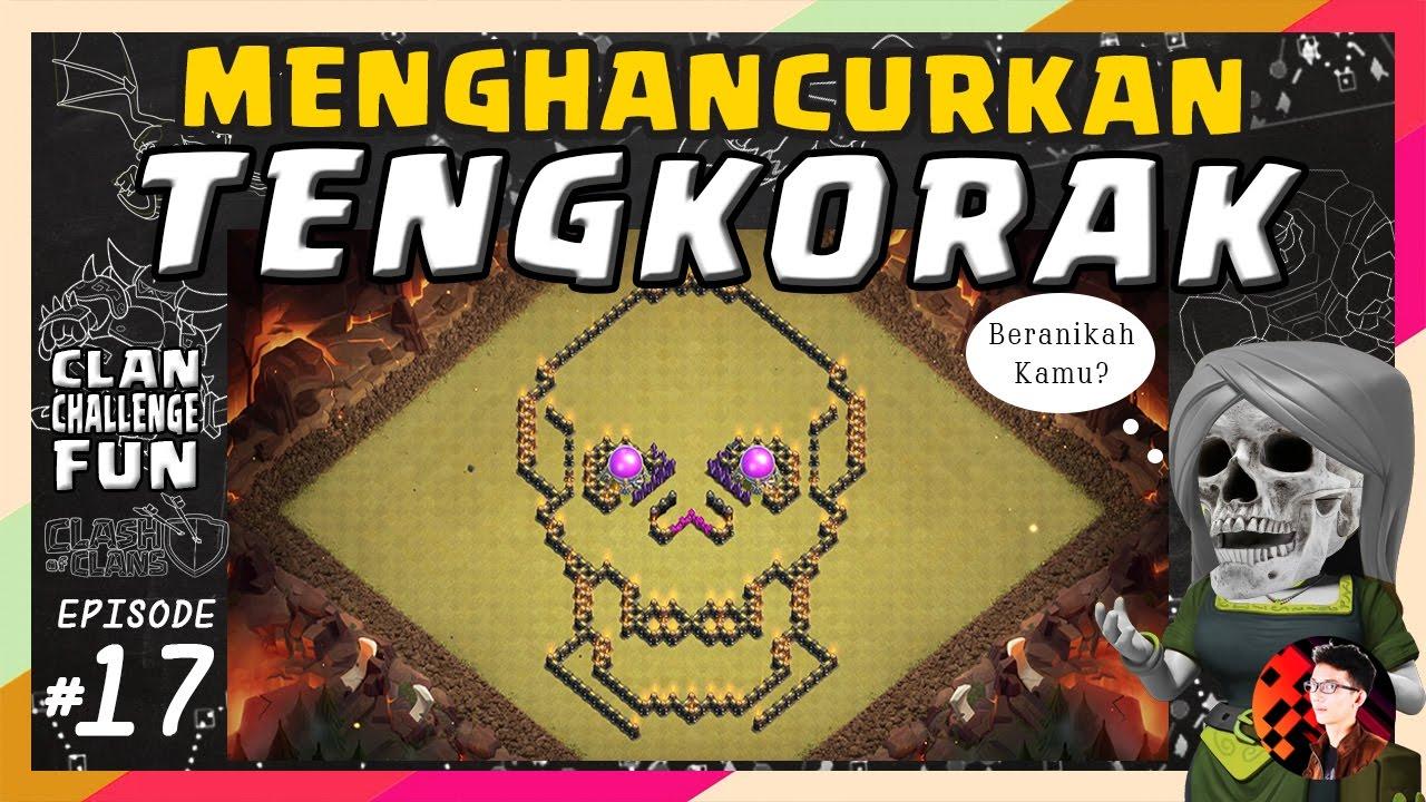 Base Coc Th 9 Bentuk Tengkorak 6