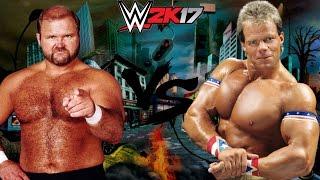 WWE 2K17 Arn Anderson vs Lex Luger