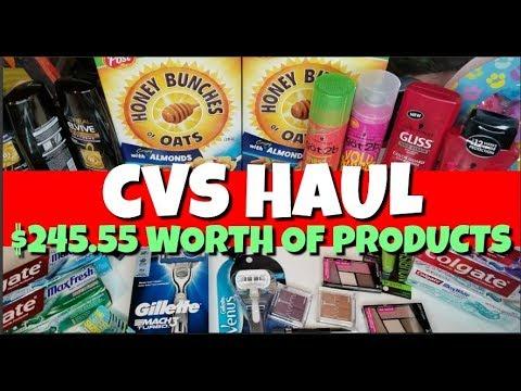 CVS Haul April 22nd-28th 2018
