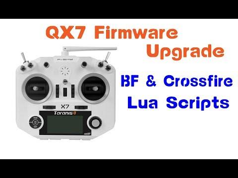TBS Crossfire   QX7 Firmware Upgrade, BF Lua & Crossfire Lua SD Card Setup / How To