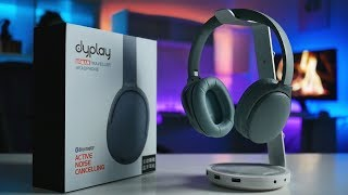 Best Battery Life Under $100 – Dyplay ANC30 Bluetooth Headphones Review