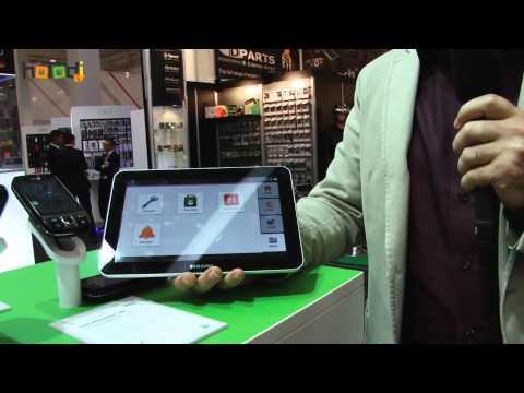 PhoneEasy 740 - Doro Smartphone für Senioren - IFA 2012 mit hoTodi.tv