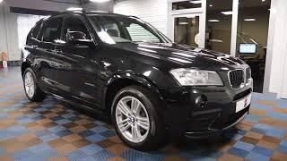 BMW X3 20d M-Sport xDrive Auto Available at James Glen Car Sales