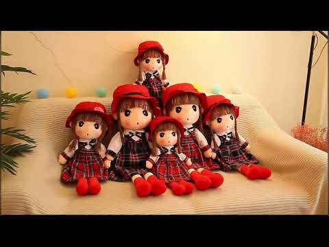 ตุ๊กตาเด็กผู้หญิงน่ารัก ตุ๊กตาของเล่น ตุ๊กตานุ่มนิ่ม ตุ๊กตาเจ้าหญิง ตุ๊กตาผ้า ของขวัญวันเกิด Doll