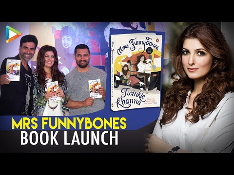 Twinkle Khanna's Hilarious Rapid Fire With Karan Johar At 'Mrs Funnybones' Book Launch
