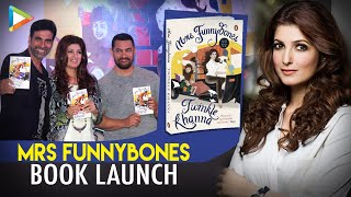 Repeat youtube video Twinkle Khanna's Hilarious Rapid Fire With Karan Johar At 'Mrs Funnybones' Book Launch