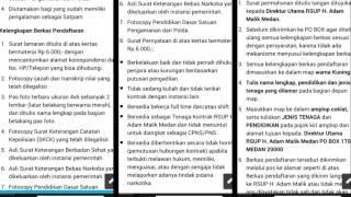 Info Lowongan RS Adam Malik