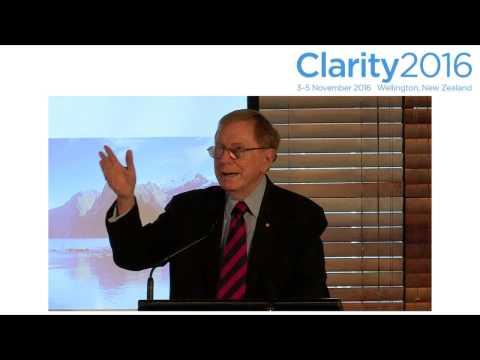 Clarity2016: The Hon Michael Kirby AC CMG