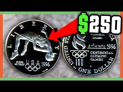 COMMEMORATIVE COINS WORTH MONEY - OLYMPIC COINS TO LOOK FOR!!