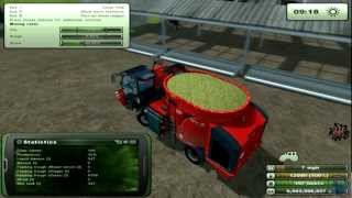 Farming Simulator 2013: How to farm. Feeding Cows. (Tutorial. 6/9)