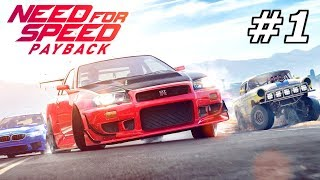 NEED FOR SPEED Payback #1 – Willkommen in Fortune Valley! | NFS Gameplay German Deutsch