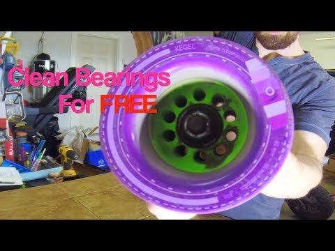 Clean your Bearings for FREE