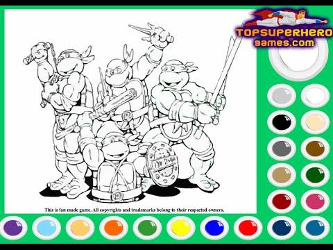 Ninja Turtles Coloring Pages For Kids Ninja Turtles