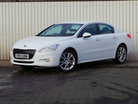 2013 peugeot 508 2 0 hdi 140 allure 4dr in white youtube. Black Bedroom Furniture Sets. Home Design Ideas