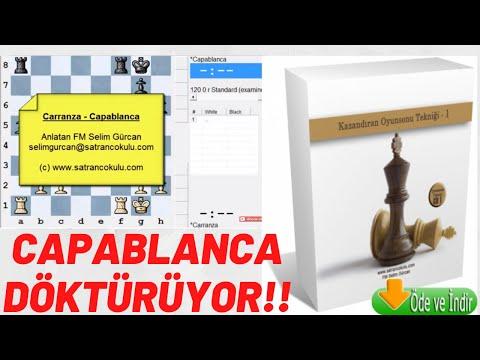 Satrançta Oyunsonu Tekniği, Carrranza - Capablanca