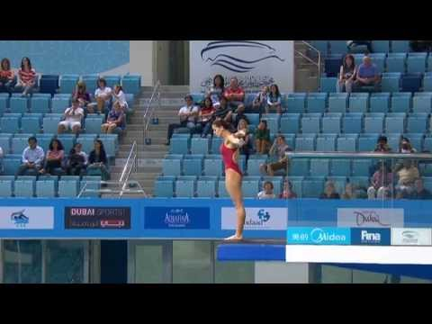 FINA Diving World Series Platform 10m Women Dubai 2012