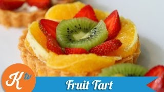 Cara Membuat Desert Fruit Tart Renyah