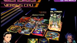 Gundam Battle Assault 2 ps1 Character Select