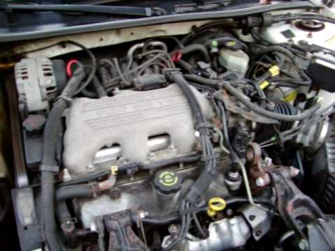 buick century 3100 sfi engine diagram buick 3100 v6 engine diagram 2003 cold start 1999 buick century custom 3.1 v6 - youtube #8
