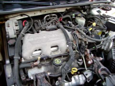 Cold Start 1999 Buick Century Custom 31 V6 - YouTube