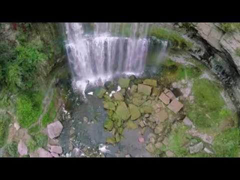 City of Waterfalls by DRONE HD. Mesmerizing w/ Sounds Hamilton Ontario