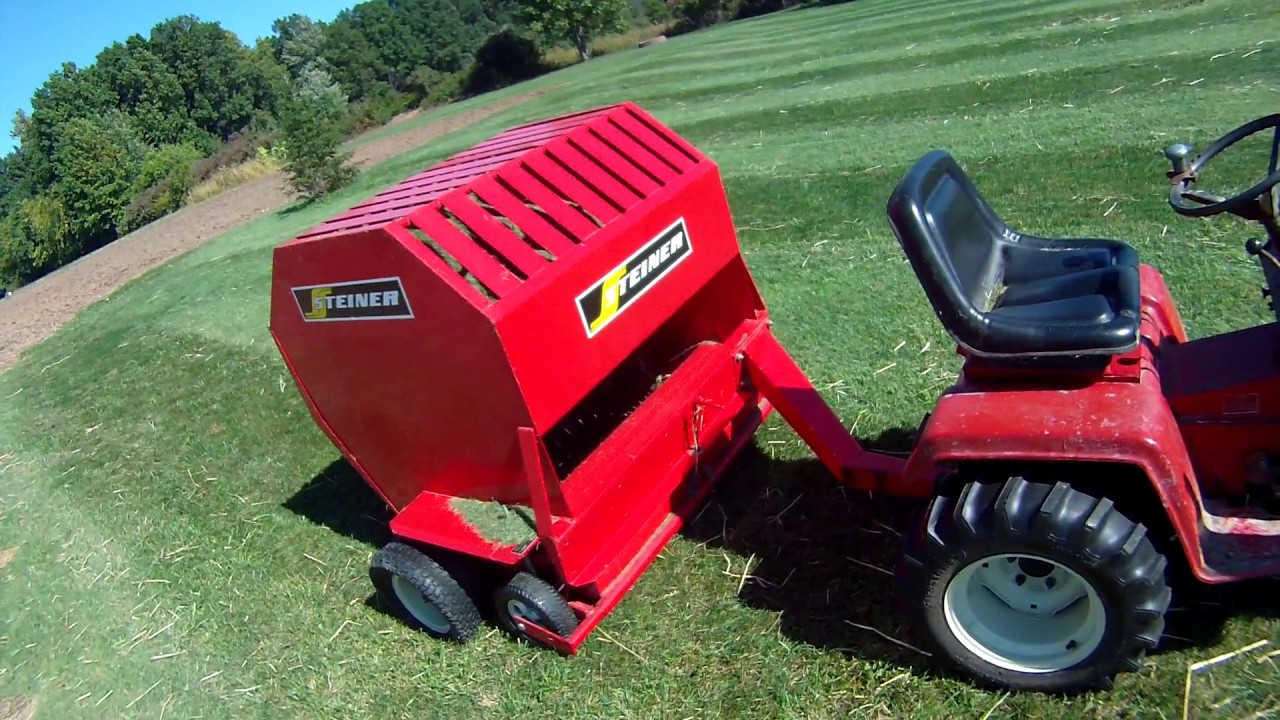 Steiner Lawn Sweeper Part 2 Youtube