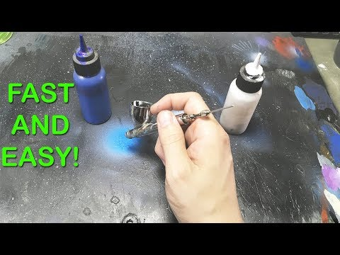 CHANGE AIRBRUSH COLORS FAST AND EASY!