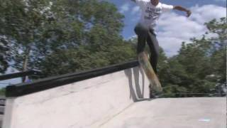 Skateboarding footage Maloof Park Flushing Queens N.Y.