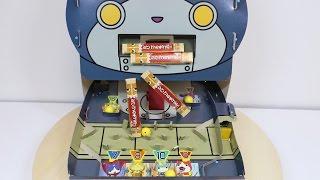 Yo-Kai Watch Robonyan Choco Bar Machine Paper Craft ~ 妖怪ウォッチ チョコボーでるでるゲーム 小学一年生