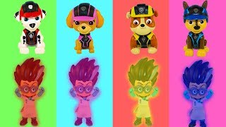 Щенячий патруль Учим цвета с Чипсами Мультики для детей Learn colors with Magic Color toys Игрушки