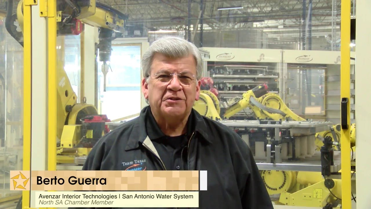 Exceptional Thank You North SA Chamber   Berto Guerra, Avenzar Interior Technologies |  San Antonio Water System