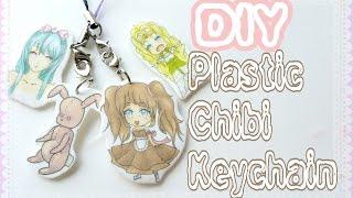 Bir Anime / Chibi'nin Anahtarlık | Dijital Ar nasıl