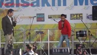 Binnu Dhillon and Rana Ranvir comedy {Visakhi Mela Hounslow London}